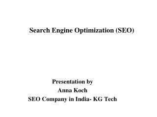 SEO Tutorial - SEO Company in India