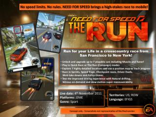 Run for your Life in a crosscountry race from  San Francisco to New York!