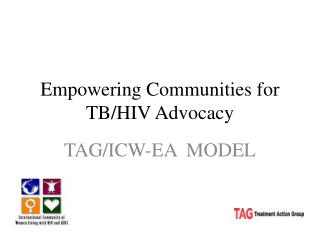 Empowering Communities for TB/HIV Advocacy