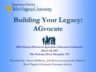 Building Your Legacy: AGvocate