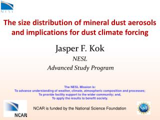 The size distribution of mineral dust aerosols and implications for dust climate forcing