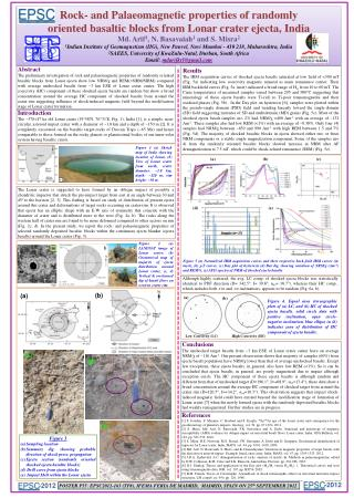 Rock- and  Palaeomagnetic  properties of randomly