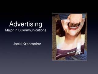Advertising Major in BCommunications