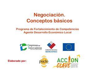 Negociación.  Conceptos básicos