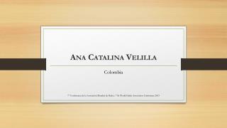 Ana Catalina Velilla