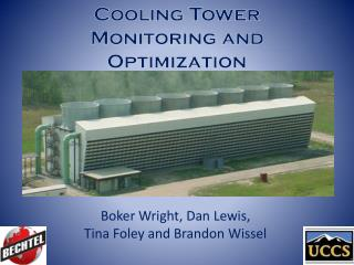 Cooling Tower Monitoring and Optimization