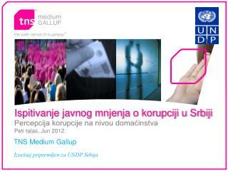 Ispitivanje javnog mnjenja o korupciji u Srbiji