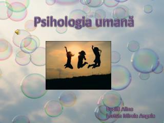 Psihologia umană