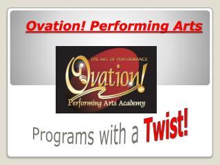 Ovation! Performing Arts