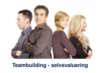 Teambuilding - selvevaluering