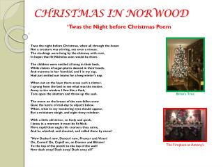 CHRISTMAS IN NORWOOD