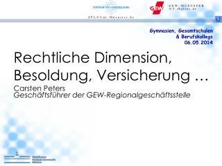 Gymnasien, Gesamtschulen & Berufskollegs 06.05.2014