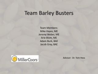 Team Barley Busters