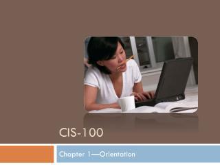 CIS-100