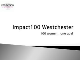 Impact100 Westchester