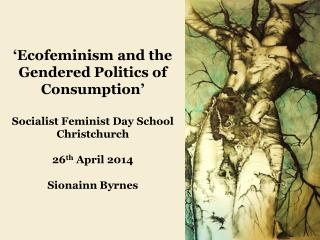 'Ecofeminism and the Gendered Politics of Consumption' Socialist Feminist Day School Christchurch