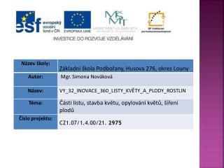 Datum vytvoření  : 21.02.2012
