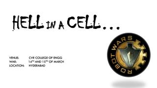 HELL  IN A  CELL…