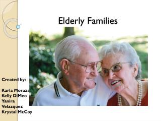 Elderly Families