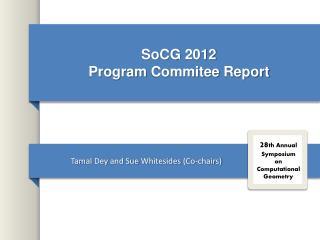 SoCG  2012  Program  Commitee  Report