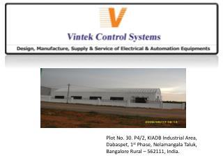 Plot No. 30. P4/2, KIADB Industrial Area, Dabaspet, 1 st  Phase, Nelamangala Taluk,