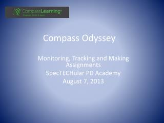 Compass Odyssey