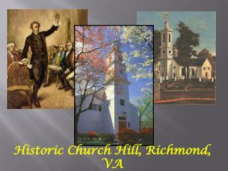 Historic Church Hill, Richmond, VA