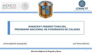 Dirección Adjunta de Posgrado y Becas