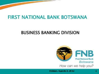First national bank botswana forex rates
