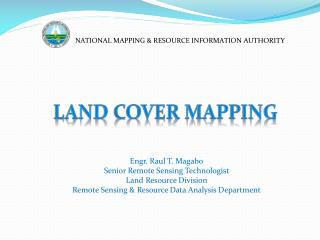 NATIONAL MAPPING & RESOURCE INFORMATION AUTHORITY