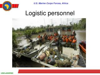 Logistic personnel