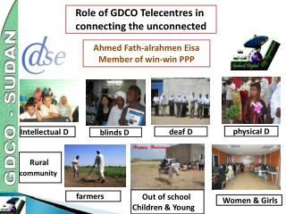 Role of GDCO Telecentres in  connecting the unconnected