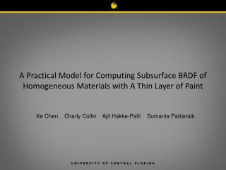 Ke Chen    Charly Collin    Ajit Hakke-Patil    Sumanta Pattanaik