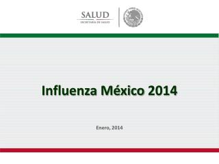 Influenza México  2014
