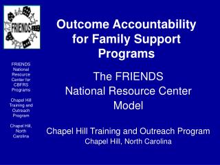 Outcome Accountability for Family Support Programs