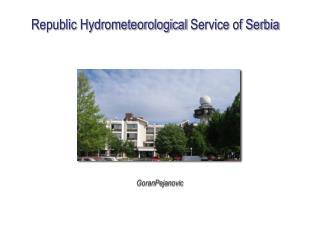 Republic  Hydrometeorological  Service of Serbia
