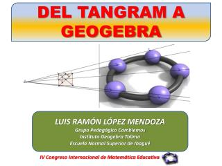IV Congreso Internacional de Matemática Educativa