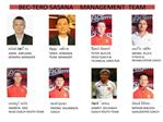 BEC-TERO SASANA    MANAGEMENT  TEAM