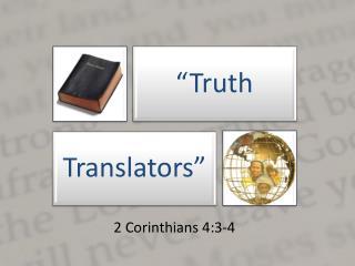 2 Corinthians 4:3-4
