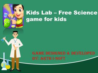Kids Lab - Latest Android Game for Kids