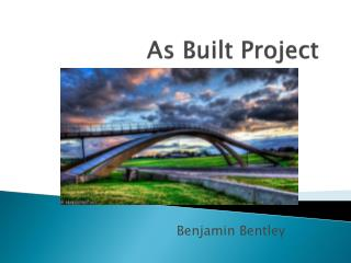 As Built Project