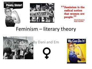 Feminism – literary theory