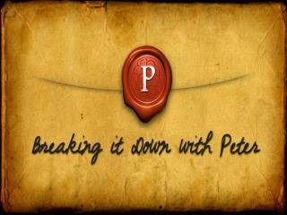 1 Peter 4:1-11