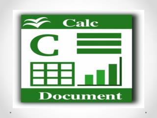 O que é o CALC ?