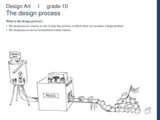 Design Art     I     grade 10 The design process