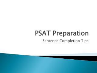 PSAT Preparation