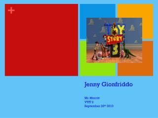 Jenny Gionfriddo