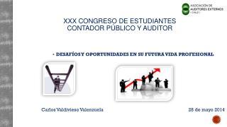XXX CONGRESO DE ESTUDIANTES  contador público y auditor