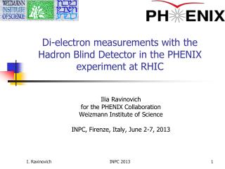 Di-electron measurements with the Hadron Blind Detector in the PHENIX experiment at RHIC