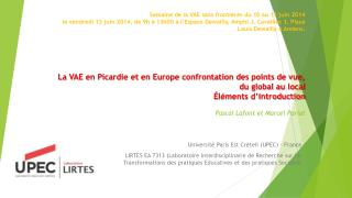 Université Paris Est Créteil (UPEC) - France